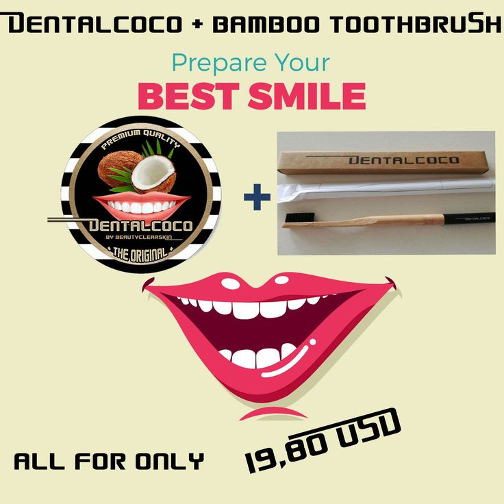 Get DENTALCOCO + BAMBOO TOOTHBRUSH ! *NEW* only 19.80 USD