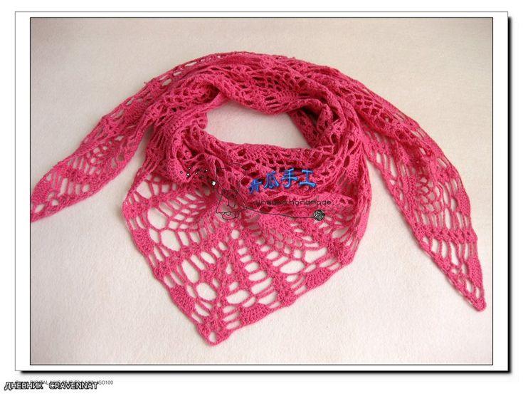 Mejores 464 imágenes de Pañuelos y bufandas en Pinterest | Bufandas ...