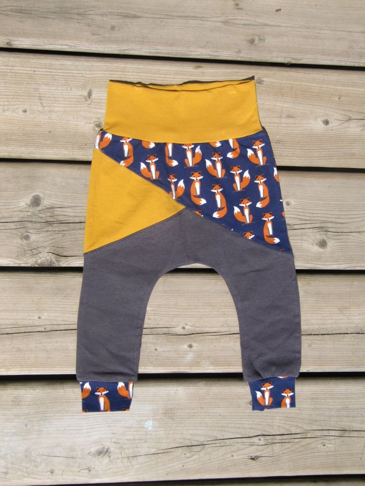 Fox Harem Joggers- size 12m by MommyandmeboutiqueCA on Etsy