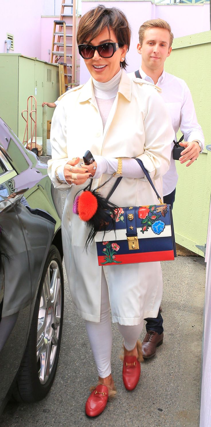 The Gucci Shoes Celebrities Can't Get Enough of - KRIS JENNER from InStyle.com