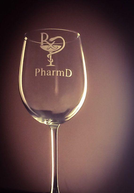 Pharmacist Pharmacy Student Graduation Wine by SangarisExpressions ...