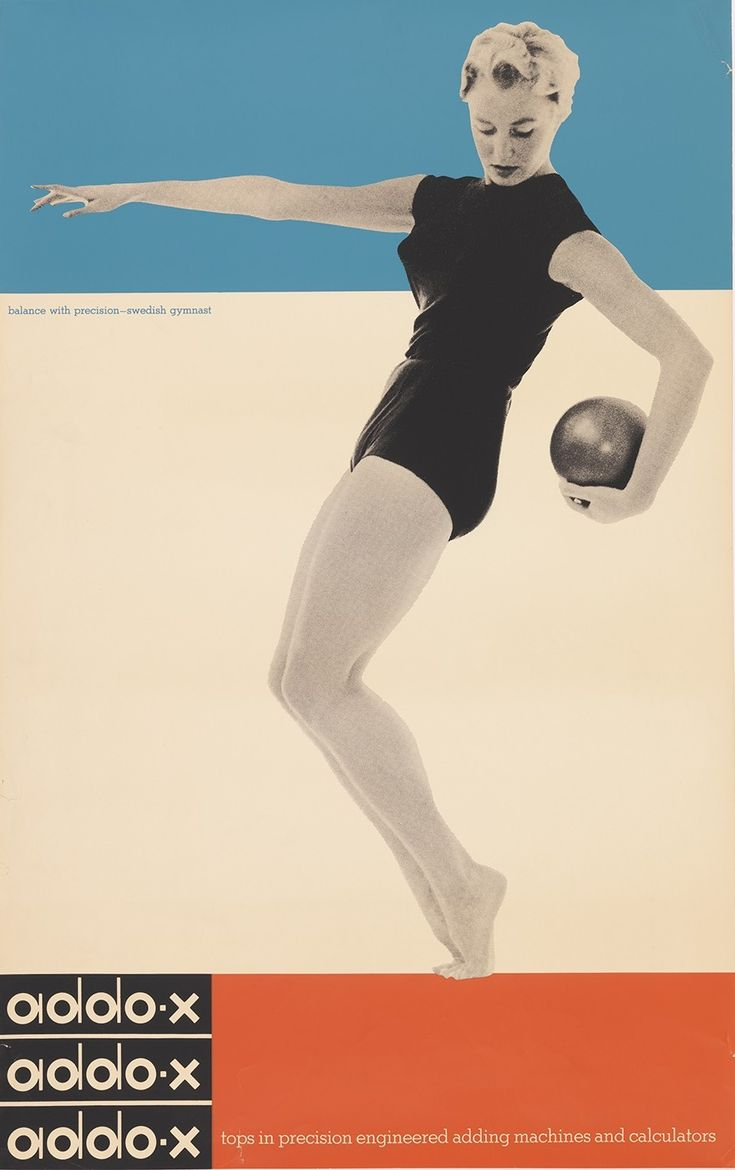 Ladislav Sutnar (American and Czech, 1897–1976) for A. B. Addo (Malmö, Sweden). Addo-x, 1958