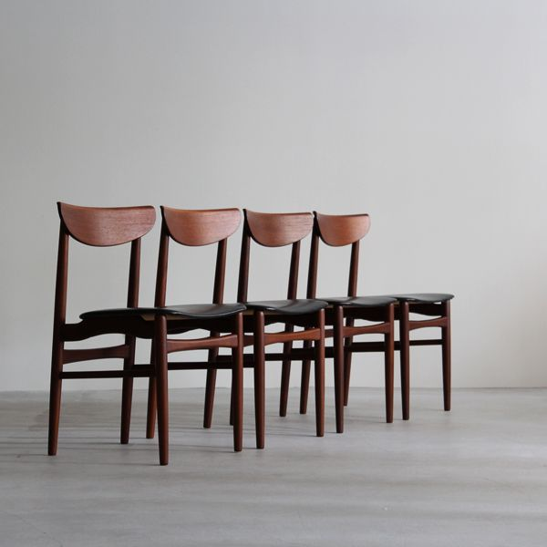 Vintage Dining chair デンマークで買付けた1960年代頃のダイニングチェア。 #北欧 #北欧ダイニングチェア #ビンテージ家具#デンマークダイニングチェア #アンティーク #デンマーク #イギリス  #チーク #
