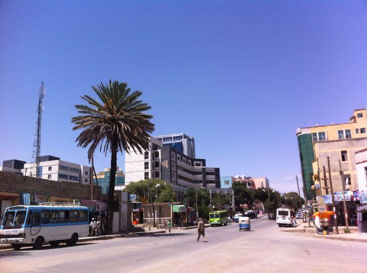 Downtown Mekele, Ethiopia