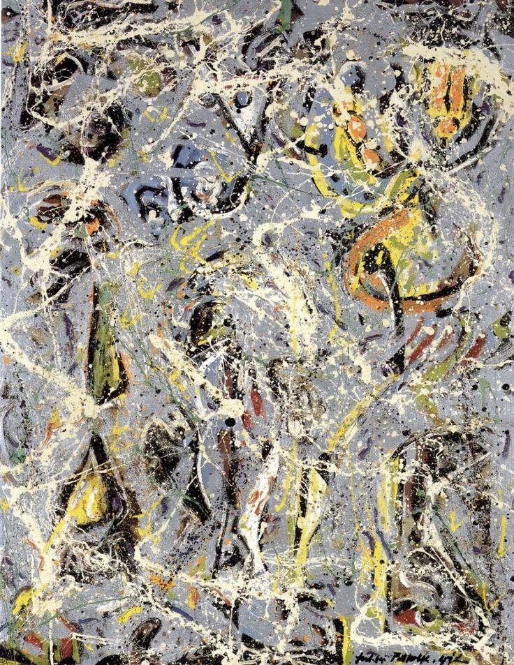 Jackson Pollock: Galaxy, 1947.