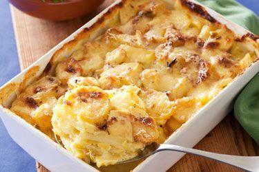 Potato and leek bake – Recipes – Bite