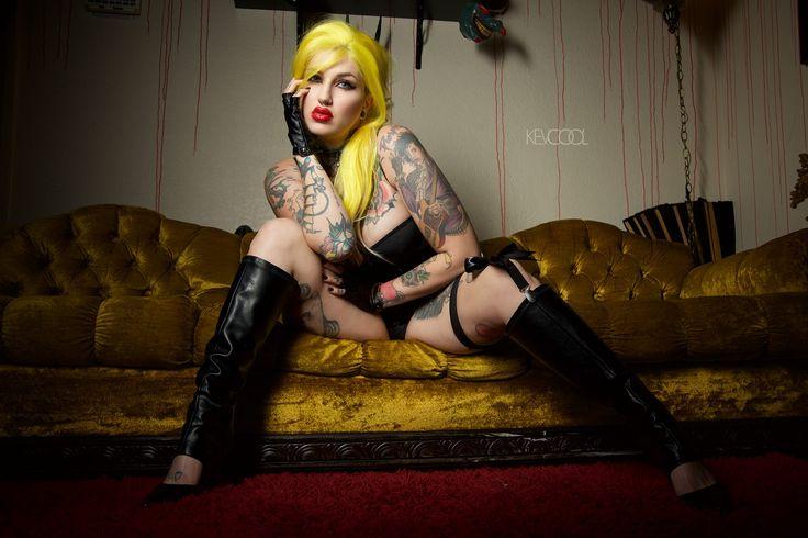 Tattoo'd Lifestyle Magazine Model Jellyfish Jones