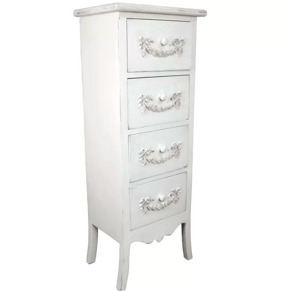 Best Tall Chest Of Drawers Vintage Slim Narrow Cabinet French 400 x 300