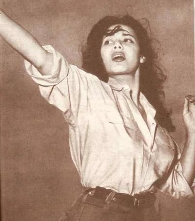 Djamila Bouhired, leading Algerian heroine and revolutionary. She fought in the war of national liberation (1954–1962) and has worked as a vocal activist in the movement for women's rights in independent Algeria.