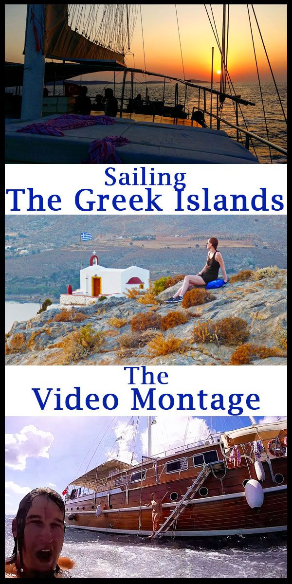 Check out this awesome video highlighting a 1 week sailing trip around the Greek Islands. #sailing #Greece