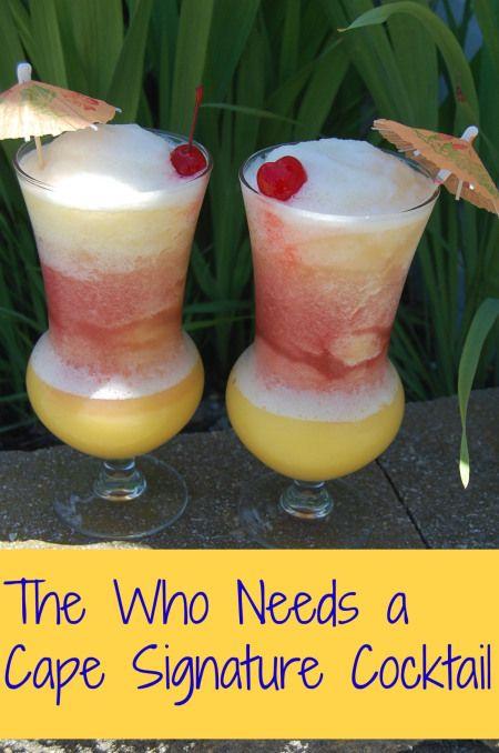Vodka, orange juice, cranberry juice, pineapple juice