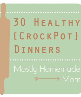 30 Healthy {Crockpot} Dinners - roasted red pepper sweet potato soup ...