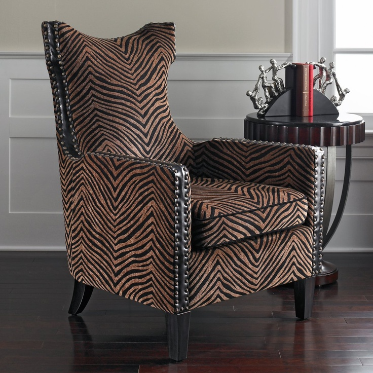 Attractive Kimoni Wingback Chair Design