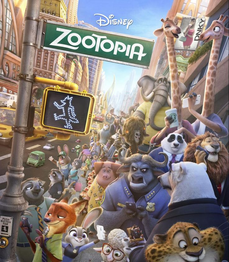 Disney's ZOOTOPIA Previews + Coloring Sheets and Games