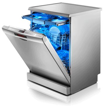 Buy high performance Bosch Dishwasher within your budget from Able Appliances Ltd.