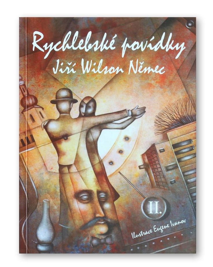 "Jiri Wilson Nemec ""Rychlebsko's tales 2"". (Komfi, 2014). Cover illustration by Eugene Ivanov #book #cover #bookcover #illustration #eugeneivanov"