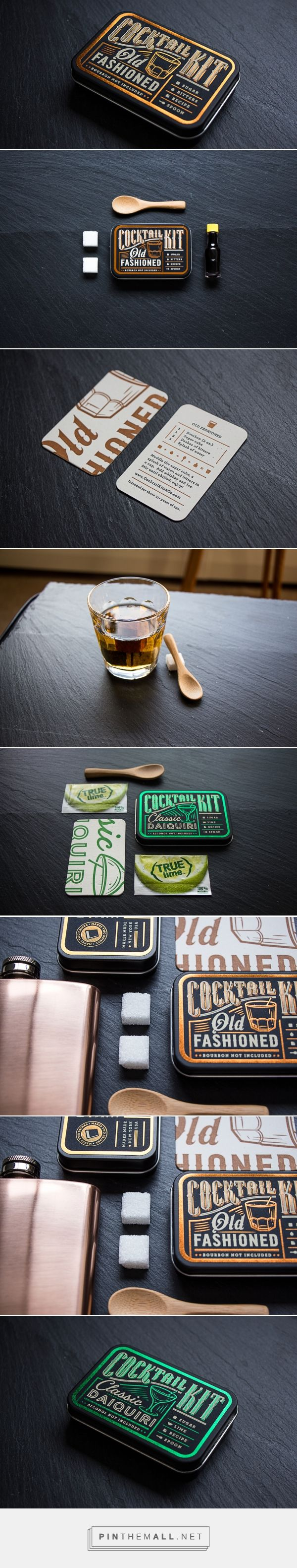 Cocktail Kits — The Dieline - Branding & Packaging - created via http://pinthemall.net