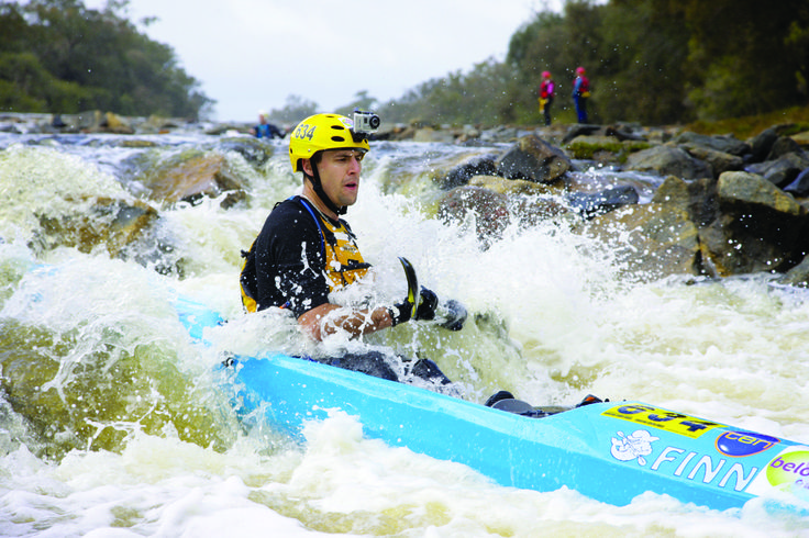 The famous Avon Descent, a grueling 124 kilometre paddlecraft race which runs through the beautiful Avon and Swan Valley, Perth.