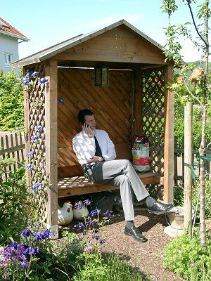 bankh uschen gartenbank philosophenbank denkerbank mit. Black Bedroom Furniture Sets. Home Design Ideas