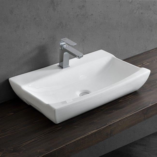 waschbecken 60 cm eckig excellent eckige waschbecken design klein mit form eckig und tiefe cm. Black Bedroom Furniture Sets. Home Design Ideas