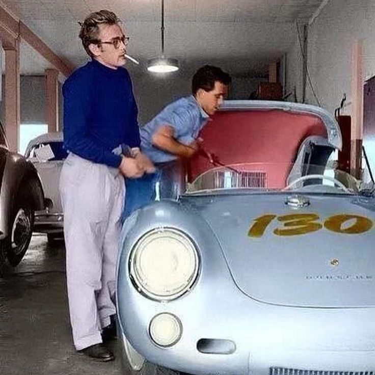 """7,760 Likes, 55 Comments - Car&Vintage® (@car_vintage) on Instagram: """"• """"Car&Vintage Monday Stories""""  The Porsche 550 Spyder, also known as 1500RS, was the first…"""""""