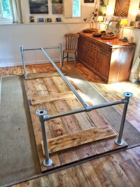 DIY Dining Table #WoodWorking