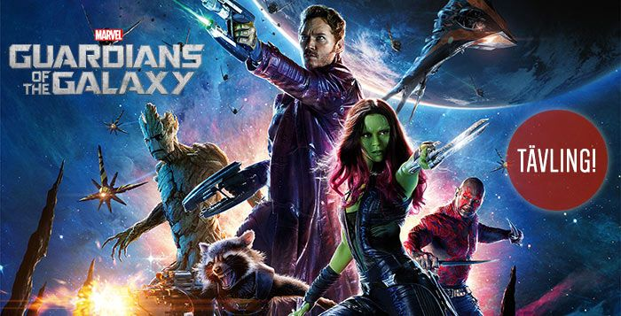 Guardians of the Galaxy Tävling
