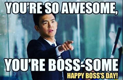 Happy Boss day @gilifeline