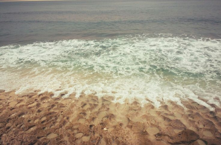 Where the corala meet the waves create beautiful shape