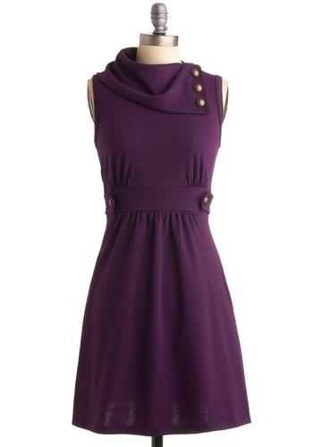 Coach Tour Dress in Violet, #ModCloth