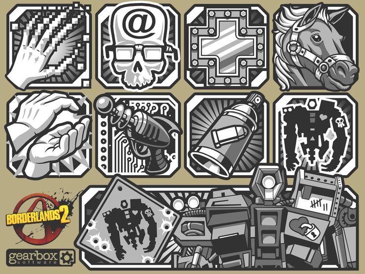 Gaige - Skill Icons