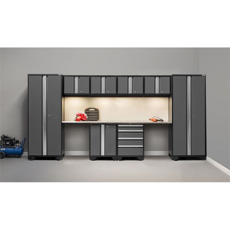 Shop Kitchen Cabinets: NewAge Products Bold 3.0 Series 10 Piece Cabinet Set In