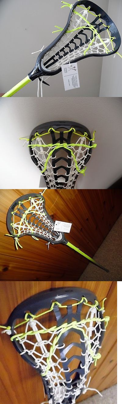Sticks 62165: Womens Lacrosse Stick New Stx Crux Head W/ Launch Pocket Brine Composite Shaft BUY IT NOW ONLY: $137.95