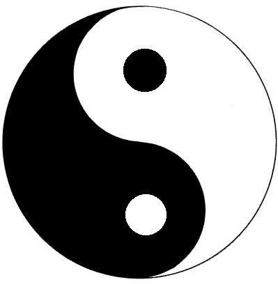 رموز عبدة الشيطان و الماسونية العالمية Yin Et Yang Symbole Yin Yang Info Du Monde