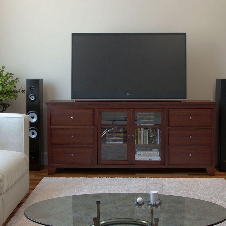 Moda Gibson Living Bedford 70-inch Rustic Media Storage TV Console