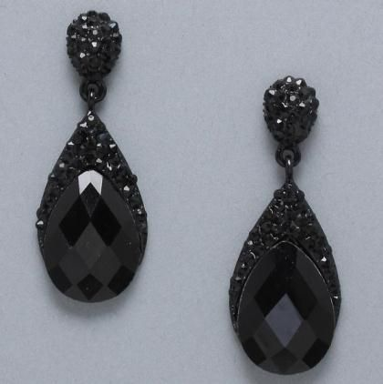 Earrings Style 176488 in Black at PromDressShop.com