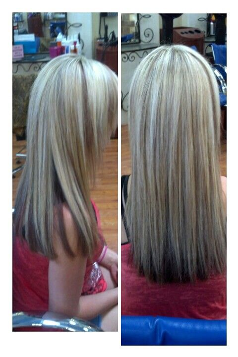 Pictures Of Platinum Blonde Hair With Chunky Lowlights Kidskunst Info