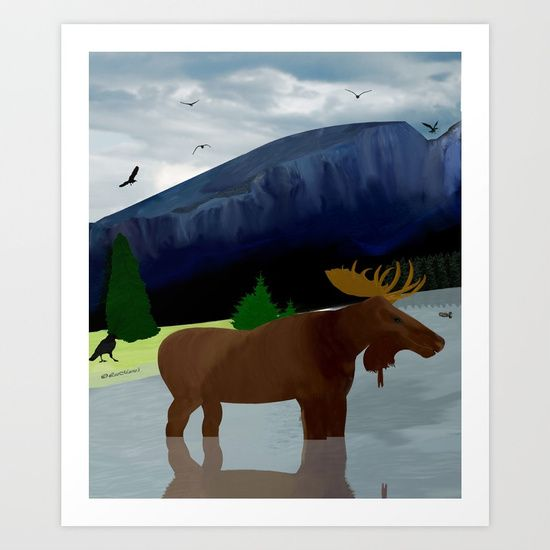 Collect your choice of gallery quality Giclée, or fine art prints custom trimmed by hand in a variety of sizes with a white border for framing. https://society6.com/product/mountain-air615011_print?curator=listenleemarie