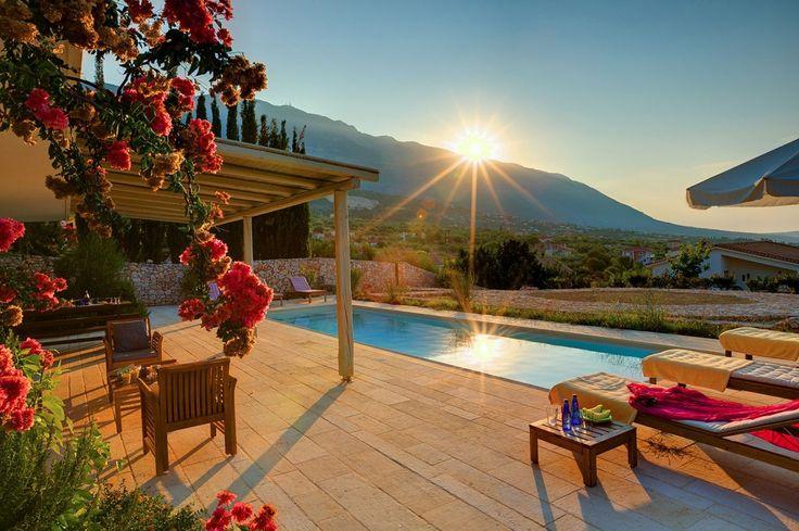 Holiday Villa in Cephalonia, Greece - Ideales Resort - Deluxe 3 bedroom villa Asterias