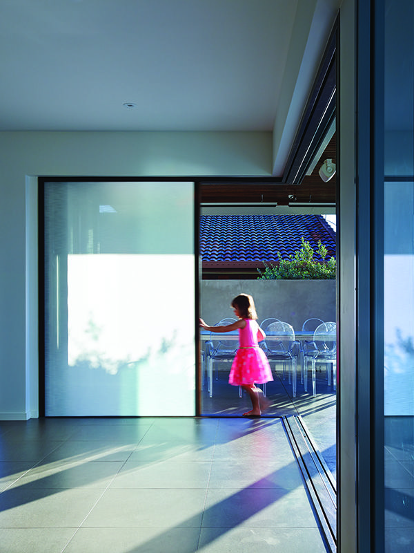 Centor integrated screens and shades completely vanish inside the wall. & 45 best Centor Integrated Doors images on Pinterest   Architects ...