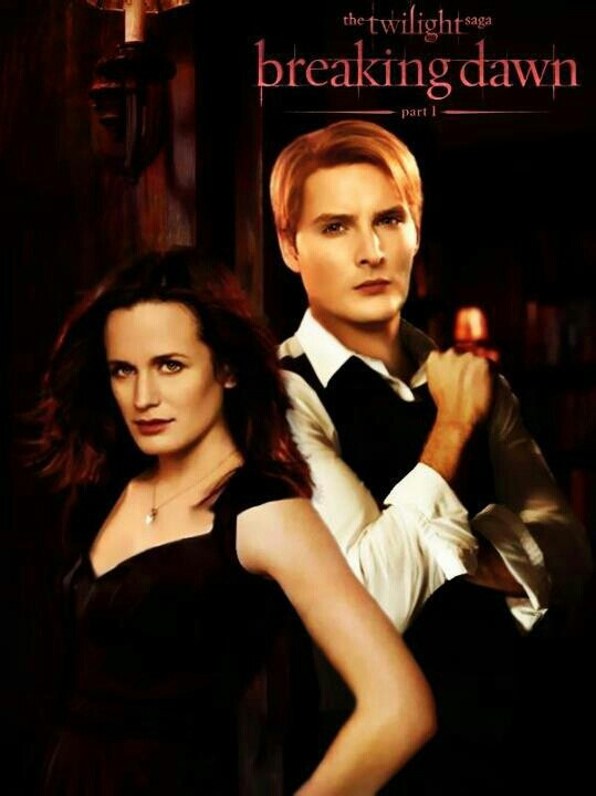 The Twilight Saga's Breaking Dawn Part 1: Esme and Carlisle