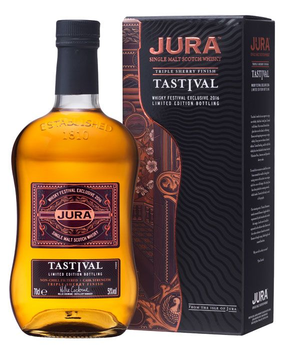 Le Jura Tastival 2016 est disponible #whisky #scotchwhisky #singlemalt