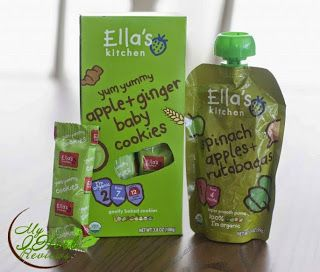 Ella's Kitchen, Toddler Cookies, Apple + Ginger, Ella's Kitchen, Spinach, Apples + Rutabagas