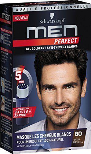 Schwarzkopf - Men Perfect - Gel Colorant Anti-Cheveux Blancs - Brun Naturel 80 Price:     Dimensions: 4,4 x 15,8 x 9 cmGel Colorant Anti-cheveux blancs pour HommeMasque les premiers cheveux blancs,...