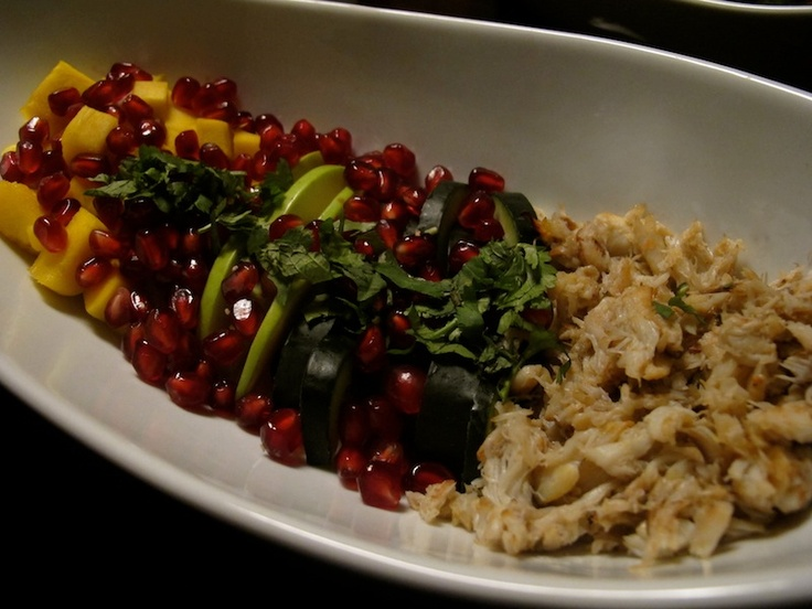 crab, apple, pomegranate salad.   yum   Pinterest   Crab Apples ...