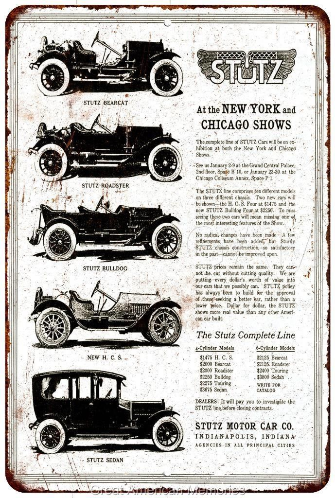 Best Stutz Car Ads Images On   Old School Cars