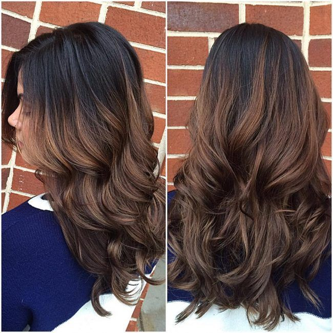 Sombre with Dark Brown Roots