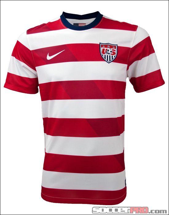 e12c1b119 Nike USA Home Jersey 2012-2013...$84.99 | U.S. Soccer | Sport shirt ...