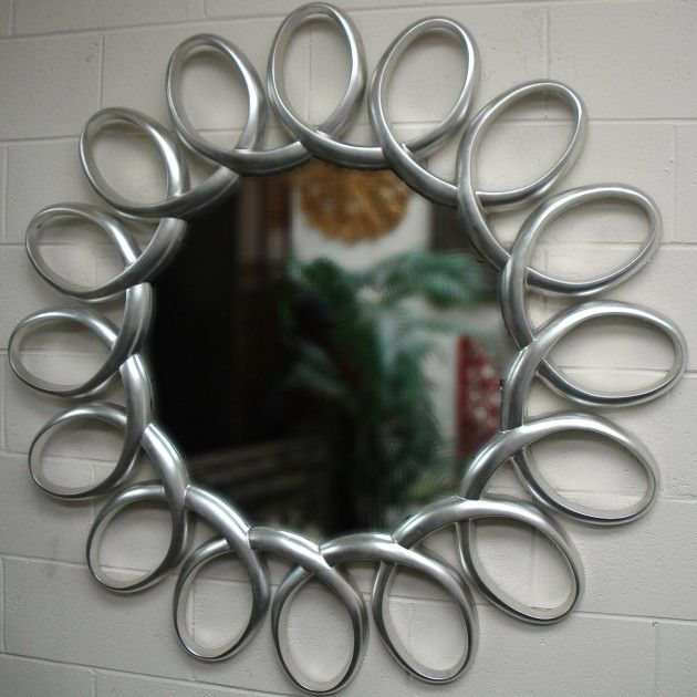 The perfect mirror for sparkles. Instructions for creating mirror sparkles: wet hands generously, wiggle fingers animatedly in front of a glorious mirror; repeat several times.