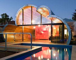 78 best unique house design images on Pinterest | Weird houses ...